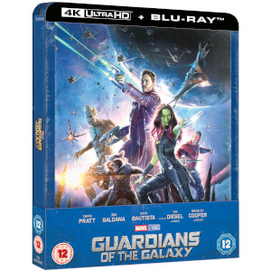 Exclusivité Zavvi : Steelbook Les Gardiens de la Galaxie - 4K Ultra HD (Blu-ray 2D Inclus)