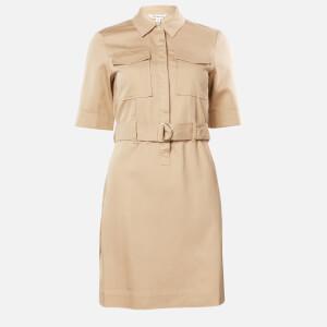 Whistles Women's Gemma Shirt Dress - Oatmeal