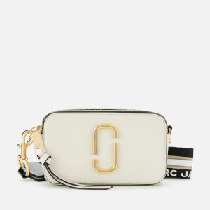 Marc Jacobs Women's Snapshot Cross Body Bag - New Cloud White Multi