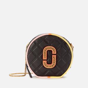 Marc Jacobs Women's The Status Round Colour Block Bag - Black Multi