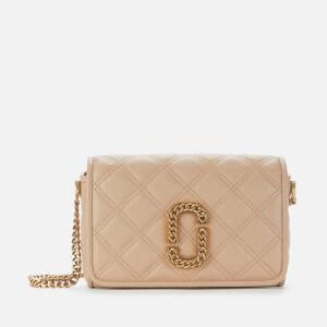 Marc Jacobs Women's The Status Flap Bag - Tan