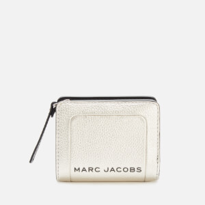 Marc Jacobs Women's Mini Compact Wallet - Platinum