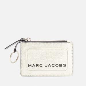 Marc Jacobs Women's Top Zip Multi Wallet - Platinum
