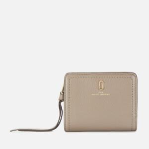 Marc Jacobs Women's The Softshot Mini Compact Wallet - Cement