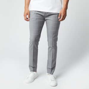 HUGO Men's Zennet202 Trousers - Open Grey