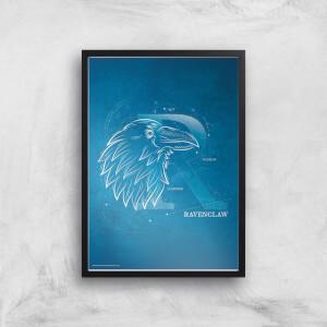 Harry Potter Ravenclaw Giclee Art Print