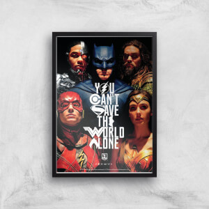 DC Justice League Giclee Art Print