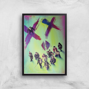 DC Suicide Squad Giclee Art Print