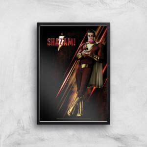 DC Shazam! Giclee Art Print