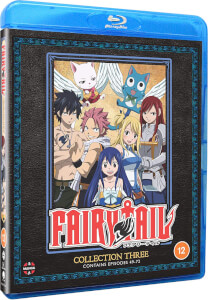 Fairy Tail: Collection Three Episodes 49-72