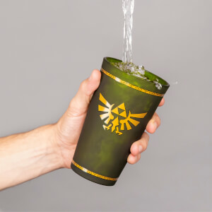 The Legend of Zelda Hyrule Crest Glass