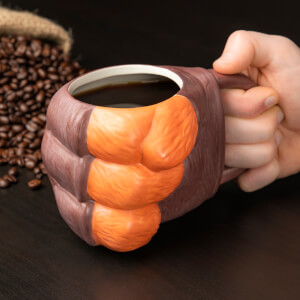 Crash Bandicoot Shaped Mug