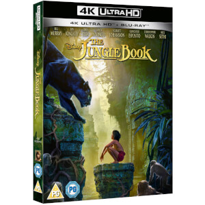 The Jungle Book (Live Action) 4K Ultra HD (Includes 2D Blu-ray)