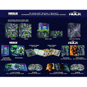 Colección Hulk The Universal - Pack Steelbooks 4K Ultra HD Exclusivo Zavvi
