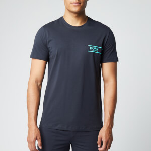 BOSS Men's T-Shirt Rn 24 - Dark Blue