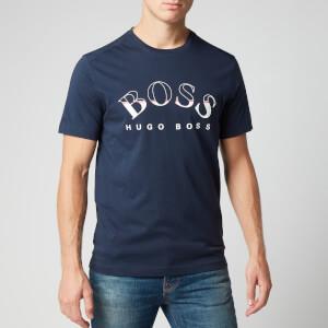 BOSS Men's Tee 1 T-Shirt - Navy