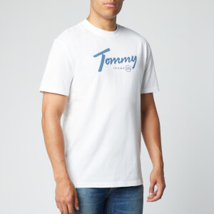 Tommy Jeans Men's Handwriting T-Shirt - White