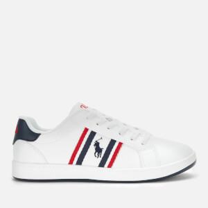 Polo Ralph Lauren Kids' Oaklynn Low Top Trainers - White