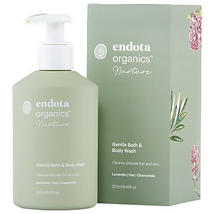 endota spa Gentle Bath And Body Wash 250ml