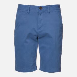 Superdry Men's International Chino Shorts - Neptune Blue
