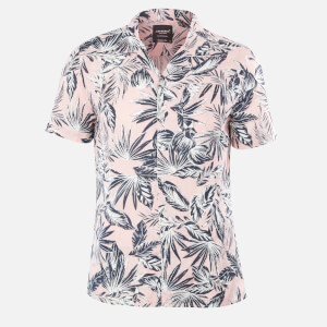 Superdry Men's Edit Cabana Shirt - Pink Palm