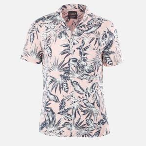 Superdry Men's Edit Cabana Shirt - Pink Palm