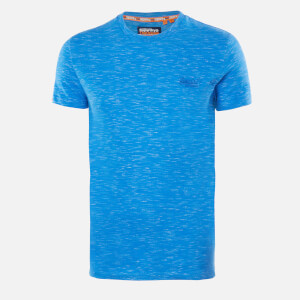 Superdry Men's Vintage Emblem T-Shirt - Cobalt Space Dye