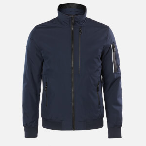 Superdry Men's Moody Light Bomber Jacket - Deep Navy