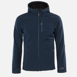 Superdry Men's Hooded Stretch Softshell Jacket - Navy