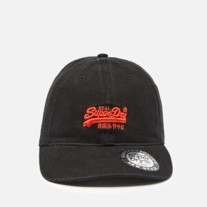 Superdry Men's Orange Label Cap - Black