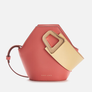 Danse Lente Women's XS Johnny Bucket Bag - Peach/Lemon
