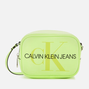 Calvin Klein Jeans Women's Sculpted Camera Bag - Neon Green