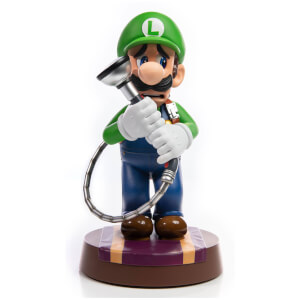 First 4 Figures Luigi's Mansion 3 PVC Statue Luigi 23 cm