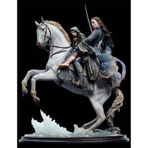 Weta Collectibles Lord of the Rings Statue 1/6 Arwen & Frodo on Asfaloth 40 cm