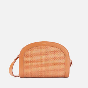 A.P.C. Women's Mini Demi Lune Bag - Hazelnut