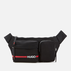 HUGO Men's Record Rl Bumbag - Black