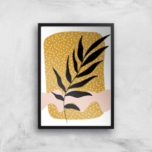 Geometric Branch Giclée Art Print