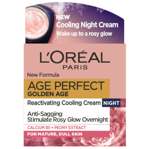 L'Oréal Paris Age Perfect Golden Age Night Cream Moisturiser 50ml