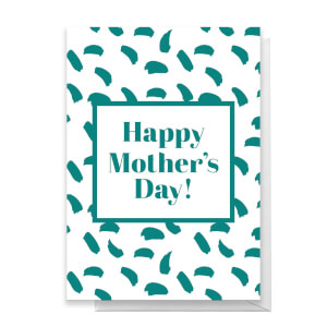 Happy Mother's Day Paint Marks Greetings Card