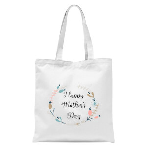 Happy Mother's Day Tote Bag - White
