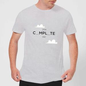 You Complete Me Men's T-Shirt - Grey