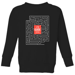 I'll Guide You Kids' Sweatshirt - Black