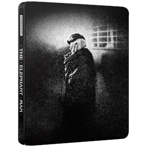 Exclusivité Zavvi : Steelbook Elephant Man (Édition 40ème Anniversaire) - 4K Ultra HD (Blu-ray 2D Inclus)