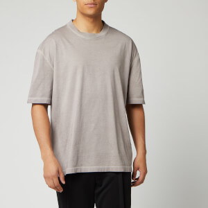 Maison Margiela Men's Resin Garment Dyed T-Shirt - Nude Beige
