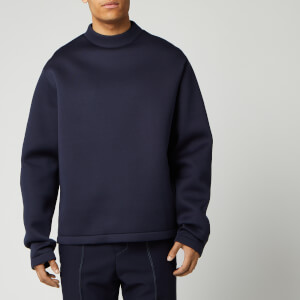 Maison Margiela Men's Scuba Jersey Sweatshirt - Dark Blue