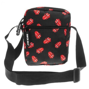 Rocksax The Rolling Stones Classic All-Over Tongue Cross Body Bag