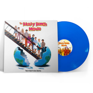 The Brady Bunch Movie Soundtrack Blue LP