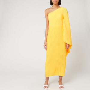 Solace London Women's Lila Midi Dress - Yellow