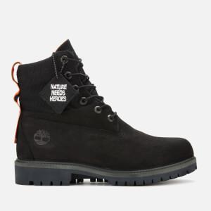 Timberland Men's 6 Inch Waterproof Sustainable Treadlight Boots - Black