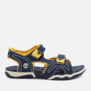 Timberland Kids' Adventure Seeker 2 Strap Sandals - Navy/Yellow